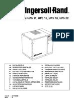 Up5 11, Up5 15, Up5 18, Up5 22 Parts Manual Rev. d