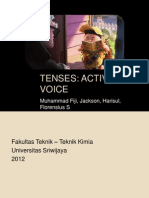 Tenses Active Voice