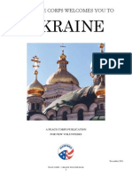 Peace Corps Ukraine Welcome Book  |  November  2011