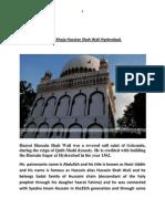 Hazrat Khaja Hussian Shah Wali
