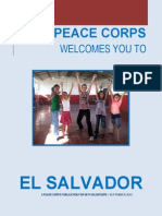 Peace Corps El Salvador Welcome Book  |  September  2012