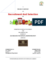 Recruitment & Selection Dabur