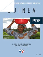 Peace Corps Guinea Welcome Book  |  June  2011