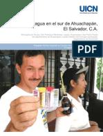 Calidad del agua en el sur de Ahuachapán, El Salvador, C.A