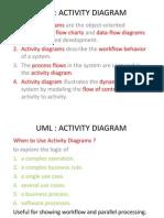 UML - Activity Diagrams