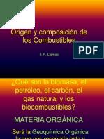 Origen y Composicion de Los Combustibles