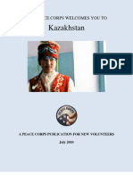 Peace Corps Kazakhstan Welcome Book  July 2010