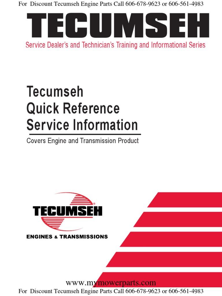 tecumseh quick reference and troubleshooting for engines and rh scribd com Tecumseh LV195EA Valve tecumseh lv195ea repair manual