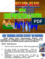 Criminal Justice System and Crime Prevention and Control