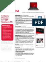 Compaq Presario C770BR Notebook