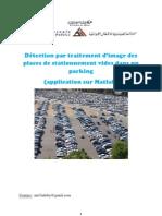 Détection par traitement d'image des places de stationnement vides dans un parking(application sur Matlab)