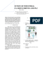 Introduction to Hydraulics, servo drive and PLC