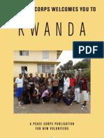 Peace Corps Rwanda Welcome Book  |  March 2012
