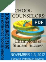 FSCA Convention Program 2012