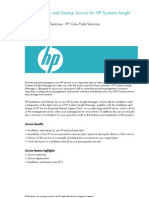 HP Installation and Startup Service for HP Systems Insight (UK)