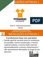 Aula4 Instalações Elétricas 1_Dimensionamento de condutores parte 2
