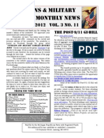Veterans & Military Families Monthly News-November 2012