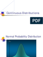 Continous Distribution