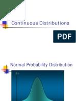 Continous Distribution