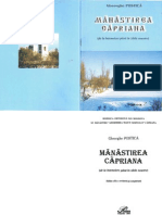 Gheorghe Postică, Mănăstirea Căpriana (de la întemeiere până în zilele noastre), Chişinău, Pontos, 2003, 76 p.