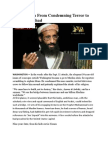 Imam's path to preacher of jihad