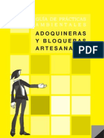 GUÍA DE PRÁCTICAS AMBIENTALES - ADOQUINERAS