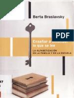 Braslavsky, Berta - Enseñar a entender lo que se lee