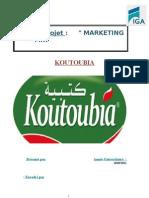 Rapport de Stage Koutoubia