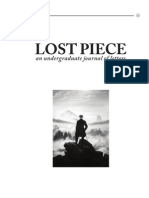 Lost Piece Volume II Issue I Final Leaves