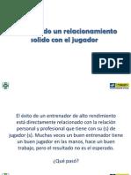 Cesar Kist Presentacion Conferencia BNP Paribas Bolivia Construyendo Un Relacionamiento Solido Con Jugador