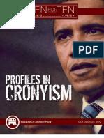 Profiles In Cronyism