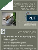 Gestion de Baterias y Aislamiento de Pilas En