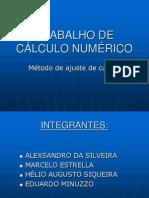 TRABALHO DE CÁLCULO NUMÉRICO