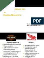 Harley Davidson vs Honda Strategy