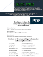 Interrogation - Art and Science (Government File)