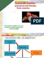 CRITERIOS de COMPRA Para Manejo Poscosecha