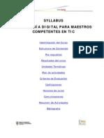 Syllabus Maestros Competentes en TIC