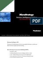 MicroStrategy Mobile Bi Finance