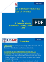 Day 6 Fundamentals of Protective Relaying