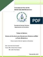 Análisis dinámico del balance de flujos metabólicos (DFBA)
