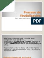Proceso de feudalización