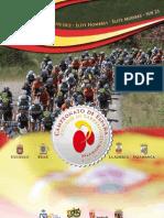 Libro Campeonatos de España Salamanca 2012