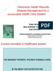 The Role of Electronic Health Records in Chronic Disease Management for a Sustainable Health Care System