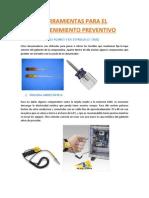 Herramientas para el mantenimiento correctivo de una PC