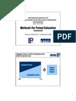 Patent Valuation