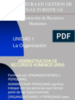 Presentacion La Organizacion