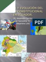 Historia y Evolución del Derecho Constitucional en Ecuador