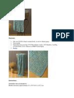 Andante Crochet Throw