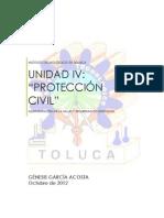 Unidad IV Proteccion Civil Administracion de La Salud