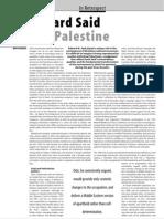 ISIM 13 Edward Said and PalestineMR